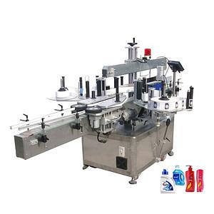 Máquina etiquetadora con bandeja de huevos