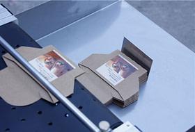 Máquina etiquetadora automática de etiquetas adhesivas de paginación