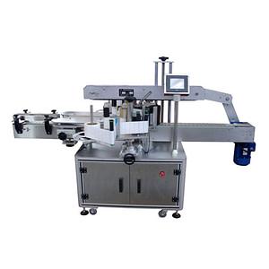 máquina de etiquetado de bandejas de alimentos