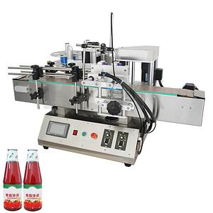Máquina automática de etiquetado de pasta de carne
