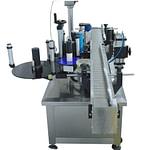 Máquina etiquetadora de tarro superior y lateral