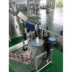 Abrigo vitamina botella máquina de etiquetado con fecha
