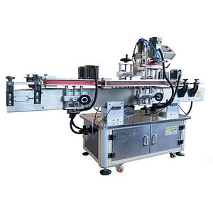 máquina de etiquetado superior y envolvente