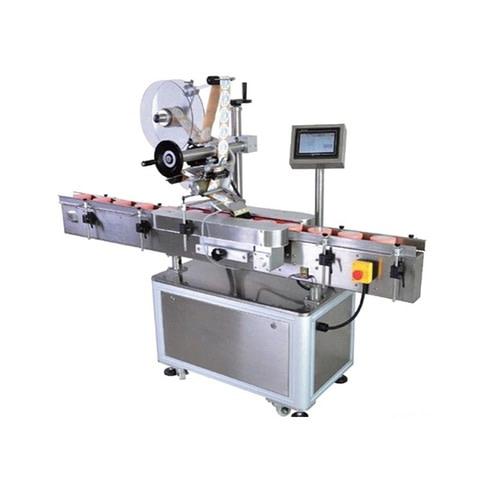 Máquina de etiquetado, Máquina etiquetadora de embalaje frontal...