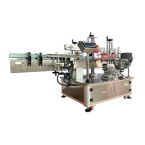 Máquina etiquetadora de un lado con mango automático
